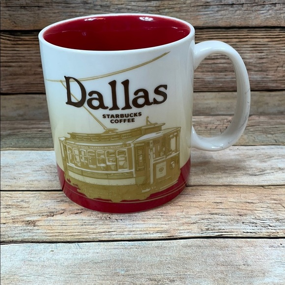 Starbucks mug CITY COLLECTOR SERIES Dallas
